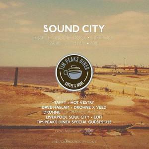 liverpool sound city  tim peaks diner